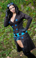 NICO ROBIN - FILM GOLD BLACK VERSION by ScarletVonD