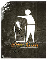 Abortion Poster 3 by Shreeb