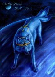 The Starry Wolves - Neptune by ZilvenArt