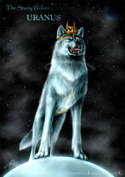 The Starry Wolves - Uranus by ZilvenArt
