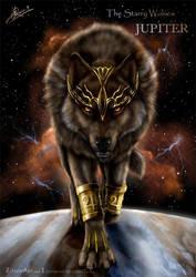 The Starry Wolves - Jupiter by ZilvenArt