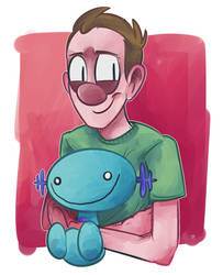 Wooper by MateriaFecale