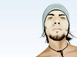 Guy in Toque by L316H