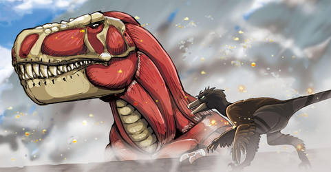 Attack on Tyrant by PREHISTOPIA