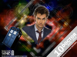 Doctor Who 50th Anniversary - The 10th Doctor by VortexVisuals