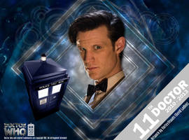 Doctor Who 50th Anniversary - The 11th Doctor by VortexVisuals