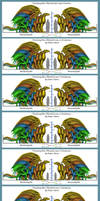 Pern Dragons Growth 1-9th pass by Silverdrak-Firnor
