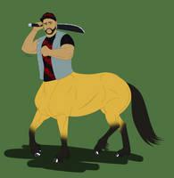 Horse Mendoza by FallenShandeh