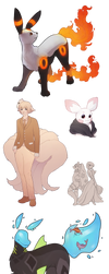 OC art (commissions, gift) by ynne-black