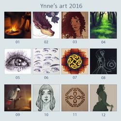 2016 by ynne-black