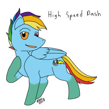 High Speed Dash by elijahtrevelyan