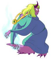 Lizard Princess by KingofthePaleo