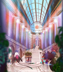 ABRAXAS: The Main Hall by painted-bees