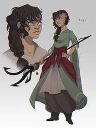 Ayse by painted-bees