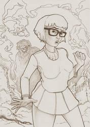 Velma Dinkley Pencil version by Eacone01