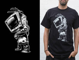 zombobox t-shirt 2 by Haidak