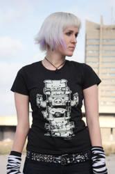 Totem Black t-shirt by Haidak