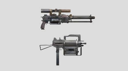 Gun concept by Haidak