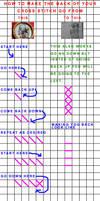 How To Make A Clean Cross Stitch Back. by moonprincessluna