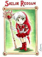 Free Chibi: Sailor Redsun by LOOMcomics