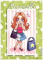 Free Chibi: Miranella Tostella by LOOMcomics