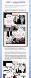 Loom's Paneling Musings 01: The Big 2 by LOOMcomics