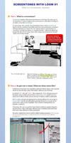 Screetones with Loom #1: What is a Screentone? by LOOMcomics