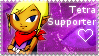 Tetra Supporter Stamp by applejackles