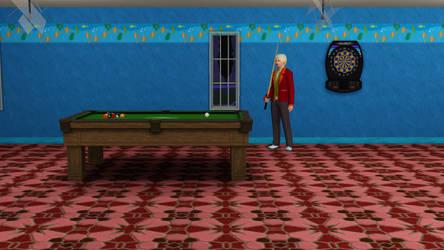 Playing Pool by Sleepstar