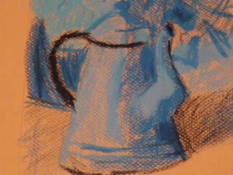 Die blau Teekanne by HerrEsel