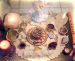 Faery Altar by GrailSidhe