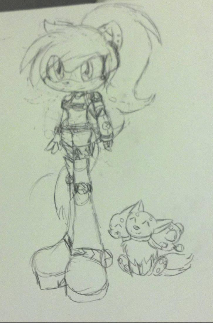 random punky sketch by Mongoosegoddess