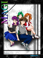 Magi Cover by xdanond