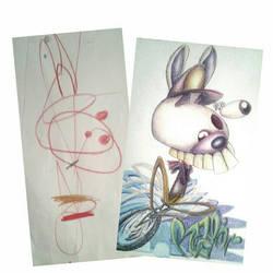 speed rabbit inspiration by bachir