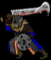 Orc Captain by Queen-FenrisUlfr