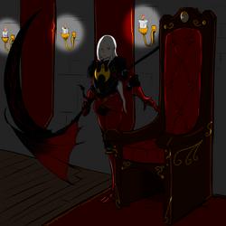 Shirinoria the Vampire Queen by Queen-FenrisUlfr