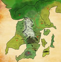 Human map no main roads by Queen-FenrisUlfr