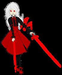 Commision:Selene, Vampiric Duelist by Queen-FenrisUlfr