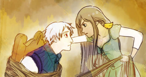 Tangled- Gil and Eli by Eternally-Eight