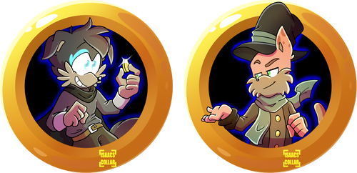 JuffyMeister Badges! by Isaacs-Collar