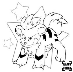 Inkmas Day 7: Growlithe by Isaacs-Collar