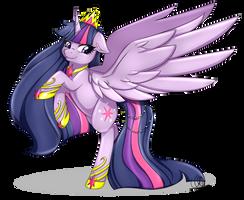 Princess Twilight Sparkle by Pillonchou