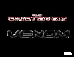 THE SINISTER SIX + VENOM - LOGO by MrSteiners