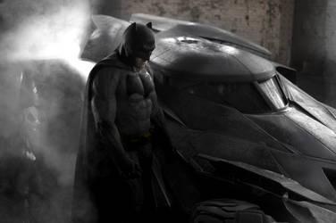 MAN OF STEEL II: BATMAN RECOLOUR by MrSteiners
