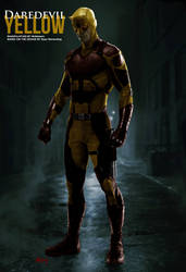Marvel's Daredevil: YELLOW - Concept Manipulation by MrSteiners