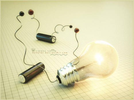 WireLess-lamp-on by hkhafan