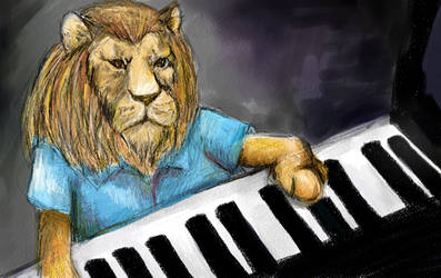Play him off, Keyboard Lion. by Moatster