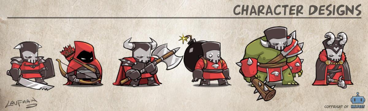 Character Designs by DerekLaufman
