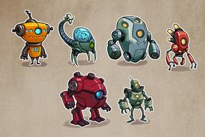 ROBOT concepts by DerekLaufman