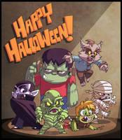 Happy Halloween pt 2!! by DerekLaufman